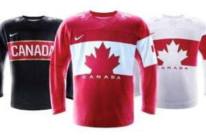 Kanadské dresy pochvalné ohlasy nezískali.