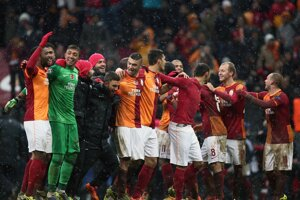 Galatasaray sa tešil z výhry a postupu práve na úkor Juventusu.