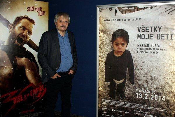 Režisér Ladislav Kaboš.
