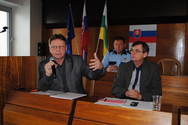 Ján Maškulík. Náčelník Mestskej polície v Snine.