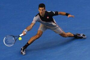 Novak Djokovič vyhral s Wawrinkom prvý set 6:2. Napokon mu to nestačilo.