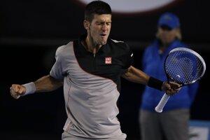 Novak Djokovič nastúpil na zápas so Stanislasom Wawrinkom.