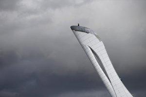 Čaša na vrchole ktorej bude horieť olympijský oheň.