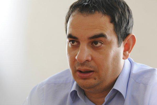 Splnomocnenec vlády pre rómske komunity Peter Pollák na Spiši.