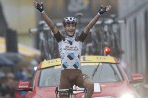 Víťaz etapy, Francúz Kadri.