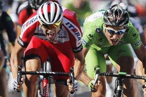 Záverečný súboj medzi Kristoffom a Saganom.