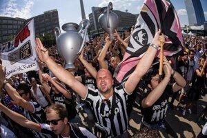 Na finále prišlo podporiť svoj tím aj obrovské množstvo fanúšikov z Turína.