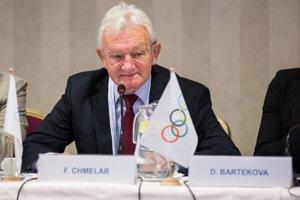 František Chmelár sa chystá podpísať slovenskú prihlášku na olympijské hry 2016.