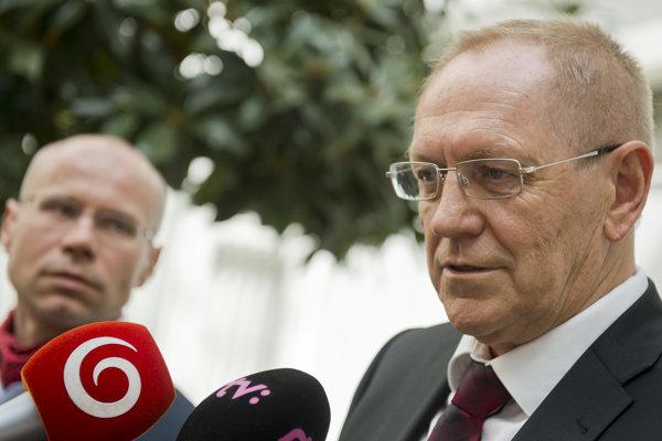 Prezident Asociácie súkromných lekárov Marián Šóth.