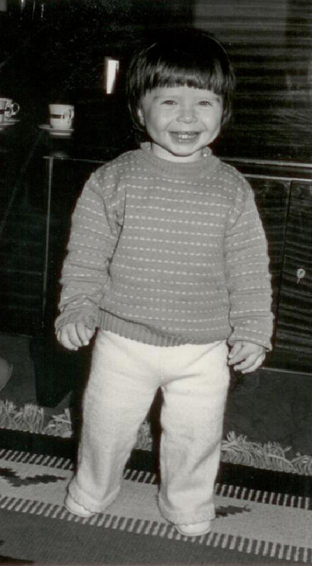 Marcel Ochránek ako malý.