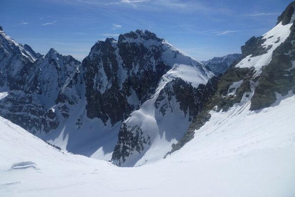 Horský priesmyk Col de la Traversette.