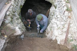 Oprava kaštieľa v obci Opiná