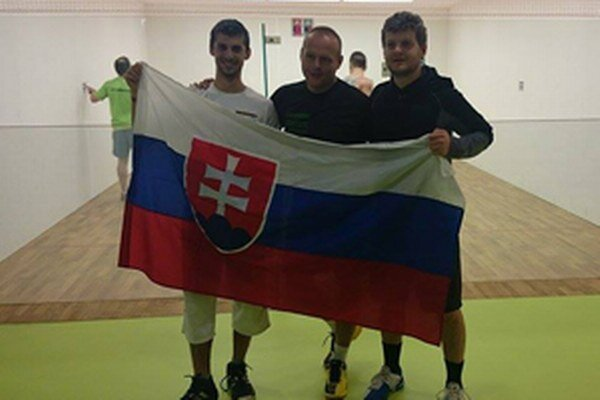 Zľava: Lukáš Valkovič, Vlado Murčo a Juraj Pavlík.