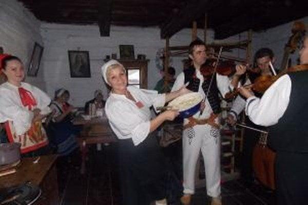Podujatia v kysuckom skanzene si návštevníci užili.
