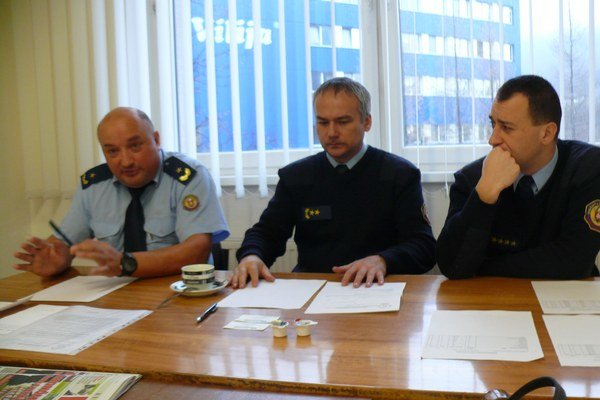 Zľava: Roman Jakubík, Stanislav Zdařil a Peter Zjavka
