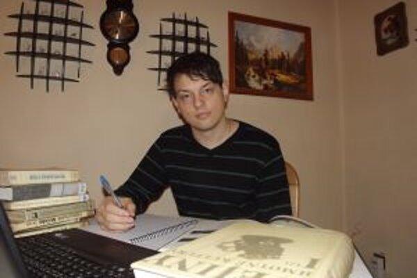 Mariána  Liščáka zaujali dejiny Bystrickej doliny. Jeho kniha vyjde koncom januára.
