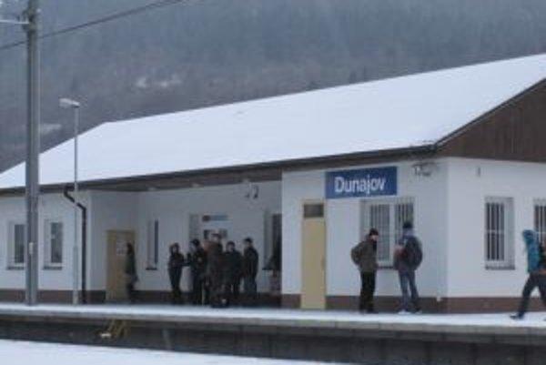 Popoludní je čakáreň v Dunajove zatvorená.