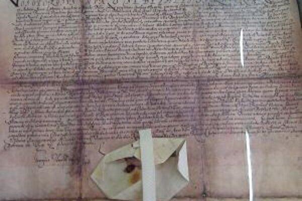 Pred 411 rokmi, presne 21.februára 1602, udelil palatín Juraj Turzo Turzovke takzvanú lokačnú listinu.