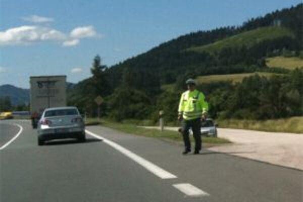 Policajti zvýšili výkon na cestách Žilinského kraja.