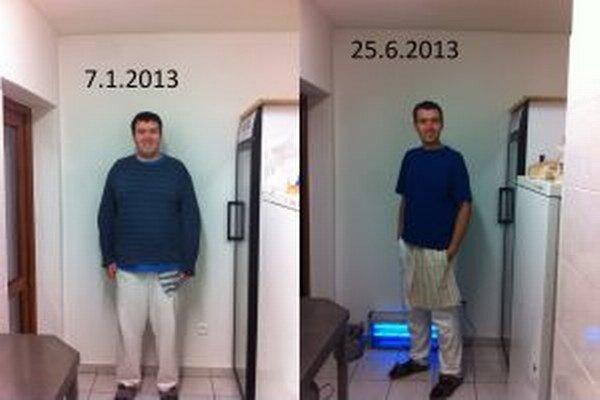 Ľubomírovi sa podarilo schudnúť viac ako 50 kg.