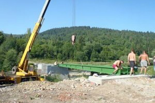 Most má byž hotový do konca augusta.