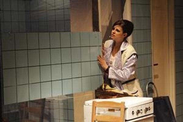 Zuzana Fialová svoju účasť v hre Pohania napriek šoku nezvažovala. ⋌FOTO – DANIEL VESELSKÝ