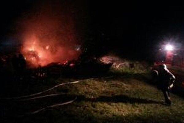 Dva ľudské životy vyhasli pri včerajšom večernom požiari drevenice v Makove – Kršlisku.