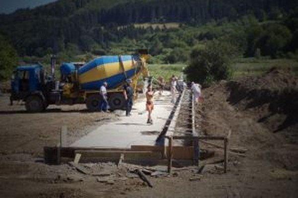 S výstavbou telocvične začali ešte v júni.