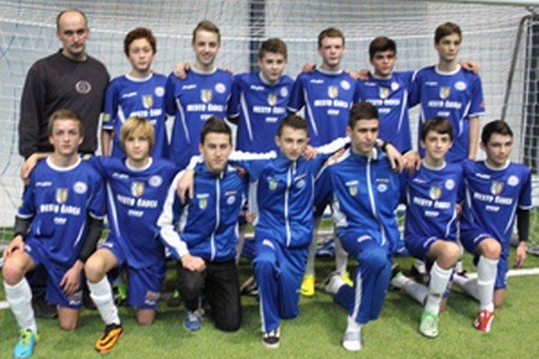 FK Čadca U15 - víťaz turnaja.