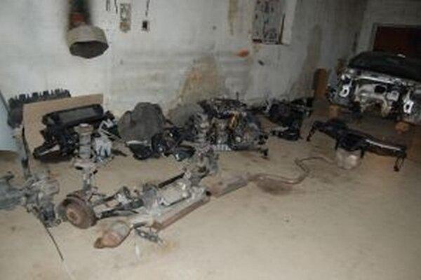 Čadčianski kriminalisti už niekoľko týždňov pracovali na prípadoch odcudzených motorových vozidiel.