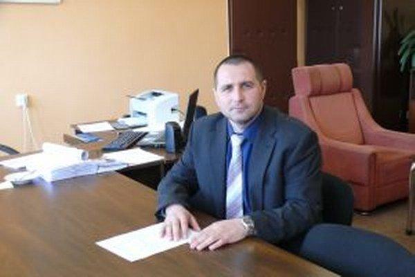 Riaditeľ Okresného riaditeľstva Policajného zboru v Čadci Milan Svitek.