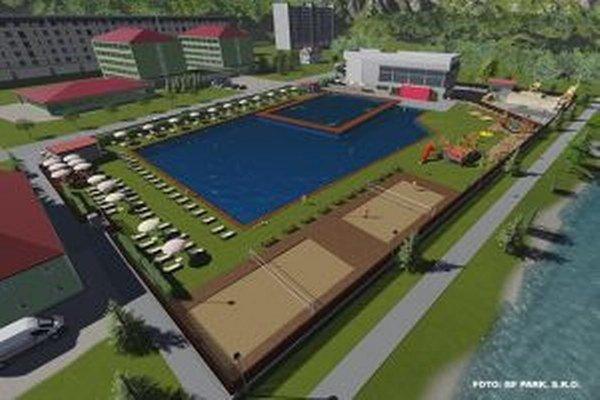 Štúdia zaujímavo rieši problematiku revitalizácie nedokončenej plavárne, s výstavbou ktorej začalo mesto začiatkom 90. rokov.