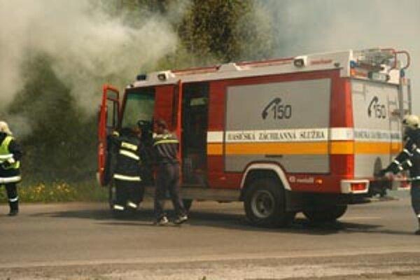 Najviac požiarov bolo v Čadci.