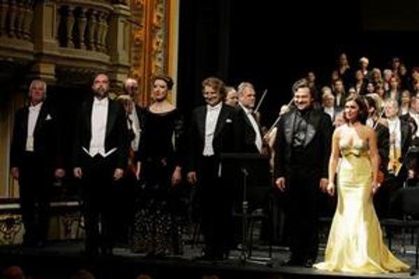 Bohuslav Martinů v Opere SND.