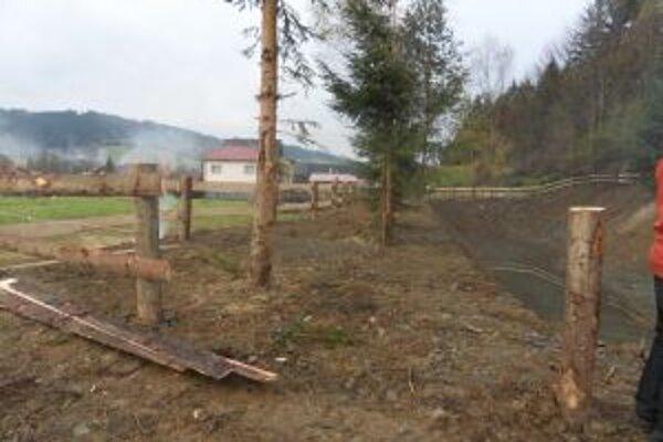 Práce na protipovodňových opatreniach v Turzovke ukončili.