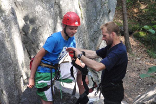 Vpravo Vladislav Vrana: horolezectvo má v krvi, hovoria o tom vrchy, ktoré zdolal. Uvidíme, na čo si ešte trúfne!