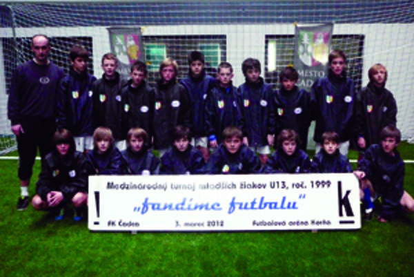 Čadčania kategórie U13 prehrali vo futbalovej aréne v Korni len so Žilinou.