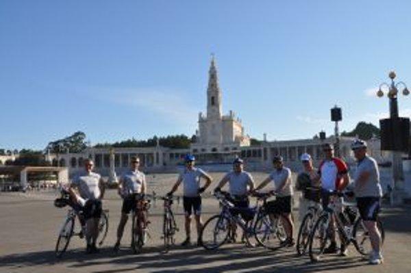 Cyklopúť do španielskeho Santiaga de Compostela v roku 2011.