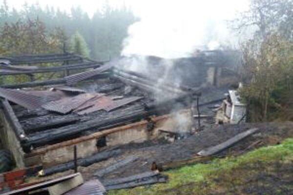 Pri požiari vznikla škoda za 30-tisíc eur.
