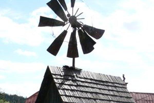 Veterný mlyn v Korni.