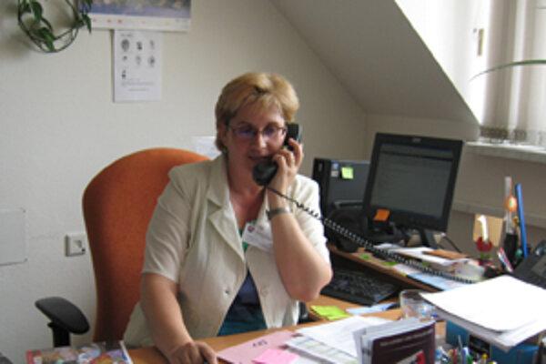 Riaditeľka Jana Marťáková hovorí, že je málo voľných pracovných miest pre ženy.