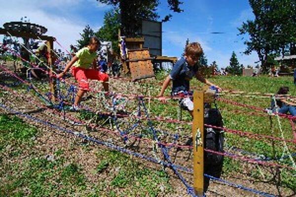 Najznámejšie kysucké lyžiarske stredisko ponúka aktivity aj v lete. Obľubujú ich hlavne deti.