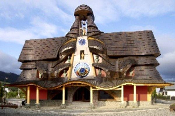 Orloj v Starej Bystrici je na Slovensku unikátom.