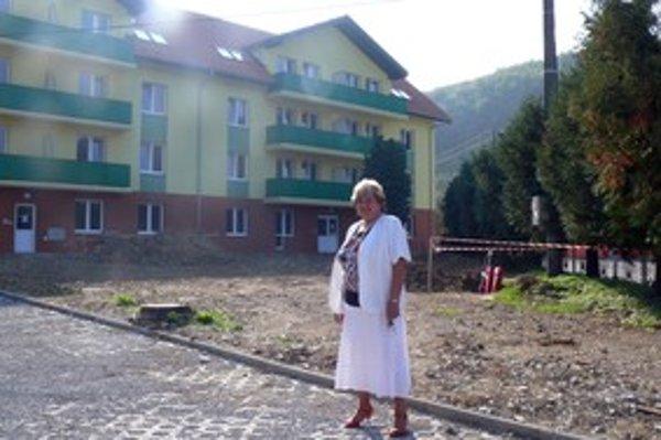 Starostka Margita Šplháková hovorí, že čoskoro vyhradia v Povine sto pozemkov na individuálnu výstavbu.