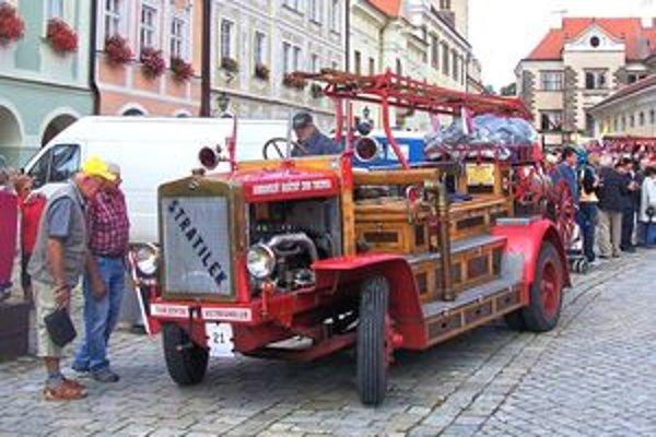 Najviac obdivované bolo hasičské auto z Kysúc.