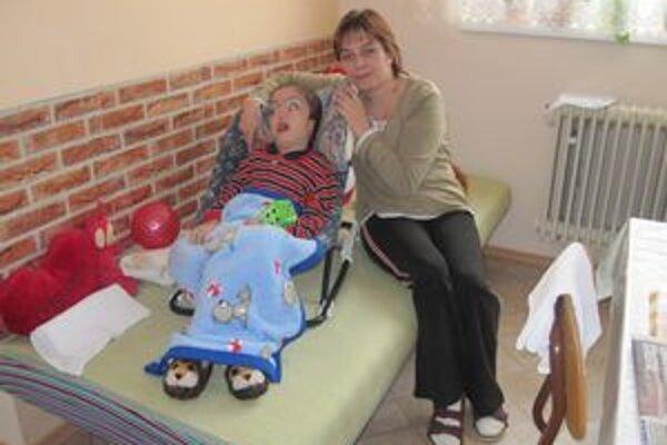 Matúško s mamou.