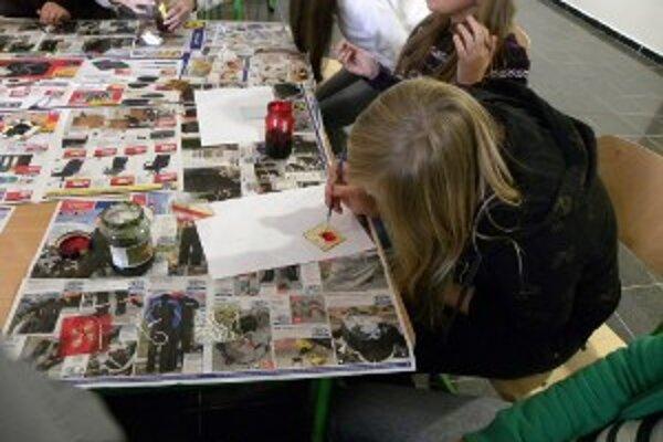 Deti sa venovali rôznym zaujímavým aktivitám, ktoré pre ne pripravilo múzeum.