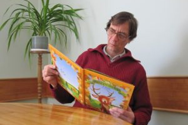 Štefan Debnár a jeho nová knižka.
