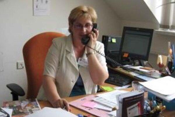 Jana Marťáková hovorí, že zamestnancom AVC budú poskytovať aj aktuálne informácie o voľných pracovných miestach.