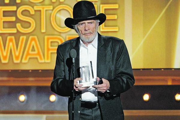 V roku 2014 získal Merle Haggard ocenenie za celoživotný prínos na 49. odovzdávaní Country Music Awards v Las Vegas.